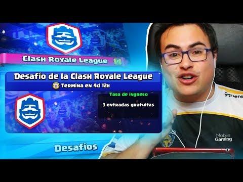 PRIMER INTENTO DE LAS 20 VICTORIAS | Desafío de la Clash Royale League