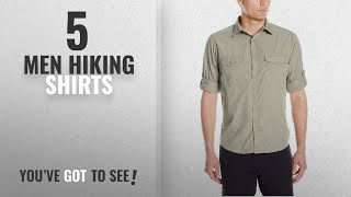 Top 10 Men Hiking Shirts [2018]: Craghoppers Men's Kiwi Long Sleeve Shirt Medium, Pebble