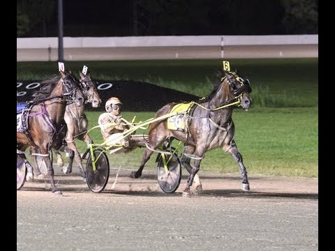 2018 -- Scioto Downs Super Night Jim Ewart Memorial, Lather Up, Foiled  Again vs Lucky Lime