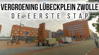 Harry Pierik Tuinontwerp - Vergroening Lübeckplein Zwolle, de eerste stap | TuinHarryPierik.nl