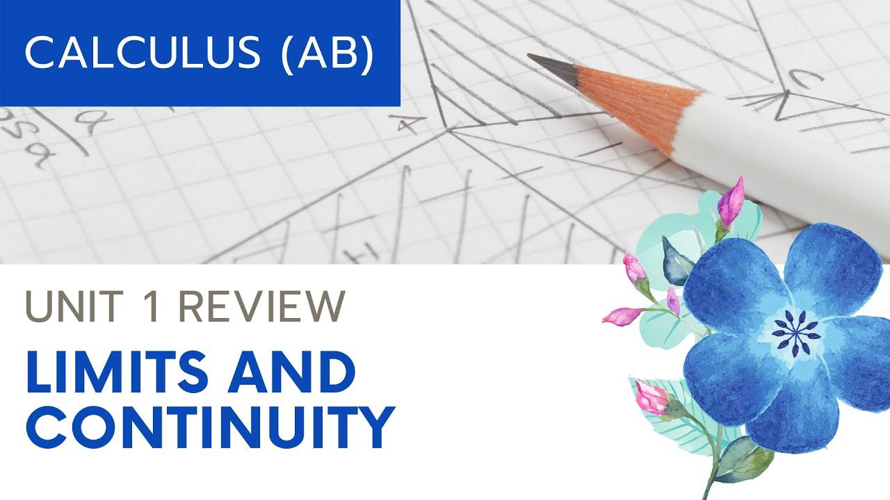 Calculus AB - Unit 1 Review