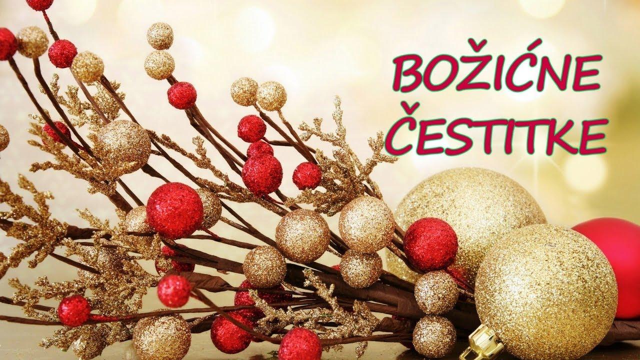 najljepše blagdanske čestitke Božićne čestitke   Srećan Božić   Happy Christmas   YouTube najljepše blagdanske čestitke