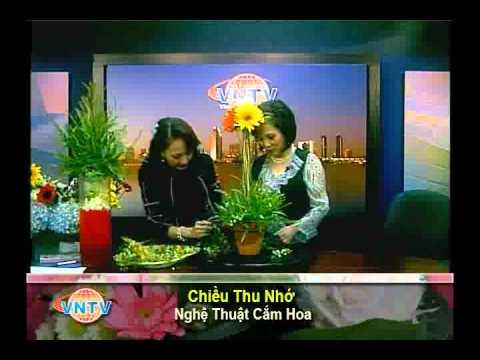 VNTV Flowers Arrangements - Bình Hoa Chiều Thu Nhớ
