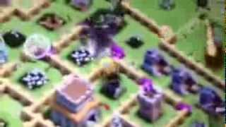 Clash of Clans Level 4 Giant,Archer,Goblin,BK,,and Dragon
