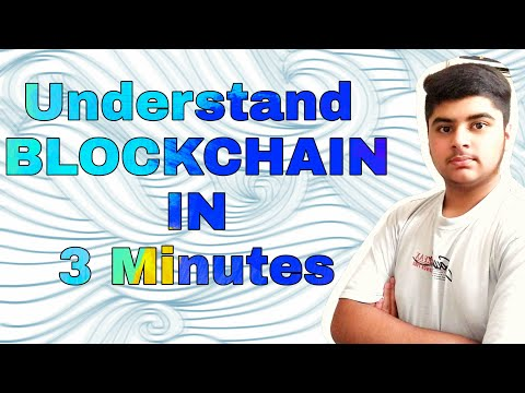 What Is A BLOCKCHAIN • Unlocking Future (3 Minutes )