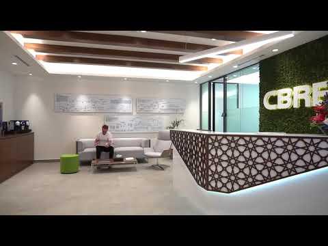 CBRE Dubai Office - Workplace 360