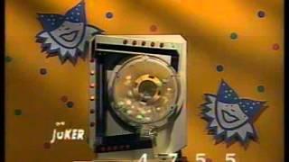 BRT TV1 - Lotto-Joker trekking (1989)