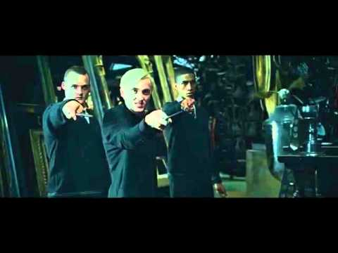 Harry Potter and the Deathly Hallows Part 2 - Draco Malfoy discusses with Harry Potter