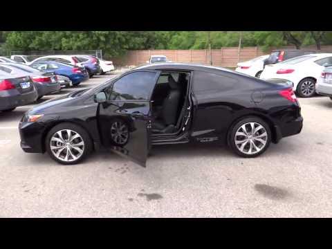 2012 Honda Civic - Coupe Used, San Antonio, Austin, Houston, Boerne, Dallas San Antonio TX