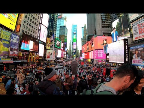 4K 360° New York City: Times Square, Manhattan