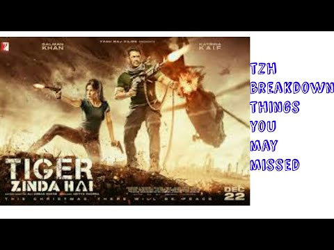 Tiger zinda hai trailer breakdown things...