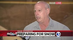 VIDEO: New Haven prepares for winter weather