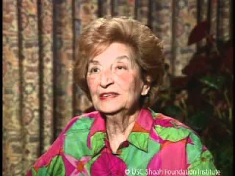 Jewish Survivor Liselotte Ivry Testimony