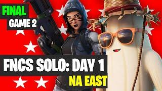FNCS SOLO NA East Game 2 Highlights - Fortnite Tournament