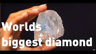 The world's largest diamond goes on sale