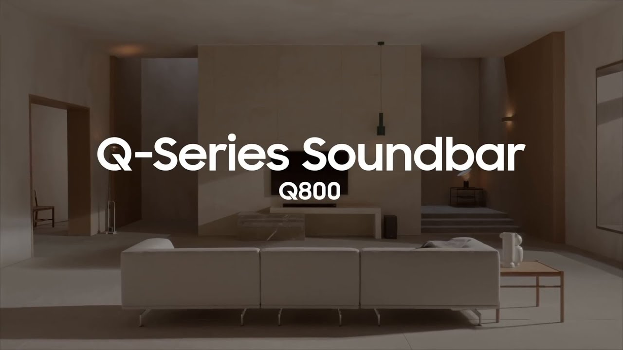 Q-Series Soundbar: Captivating entertainment | Samsung
