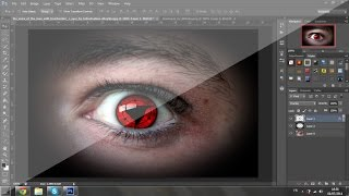 How To Make Sharingan Eye In [PS] (The Best)