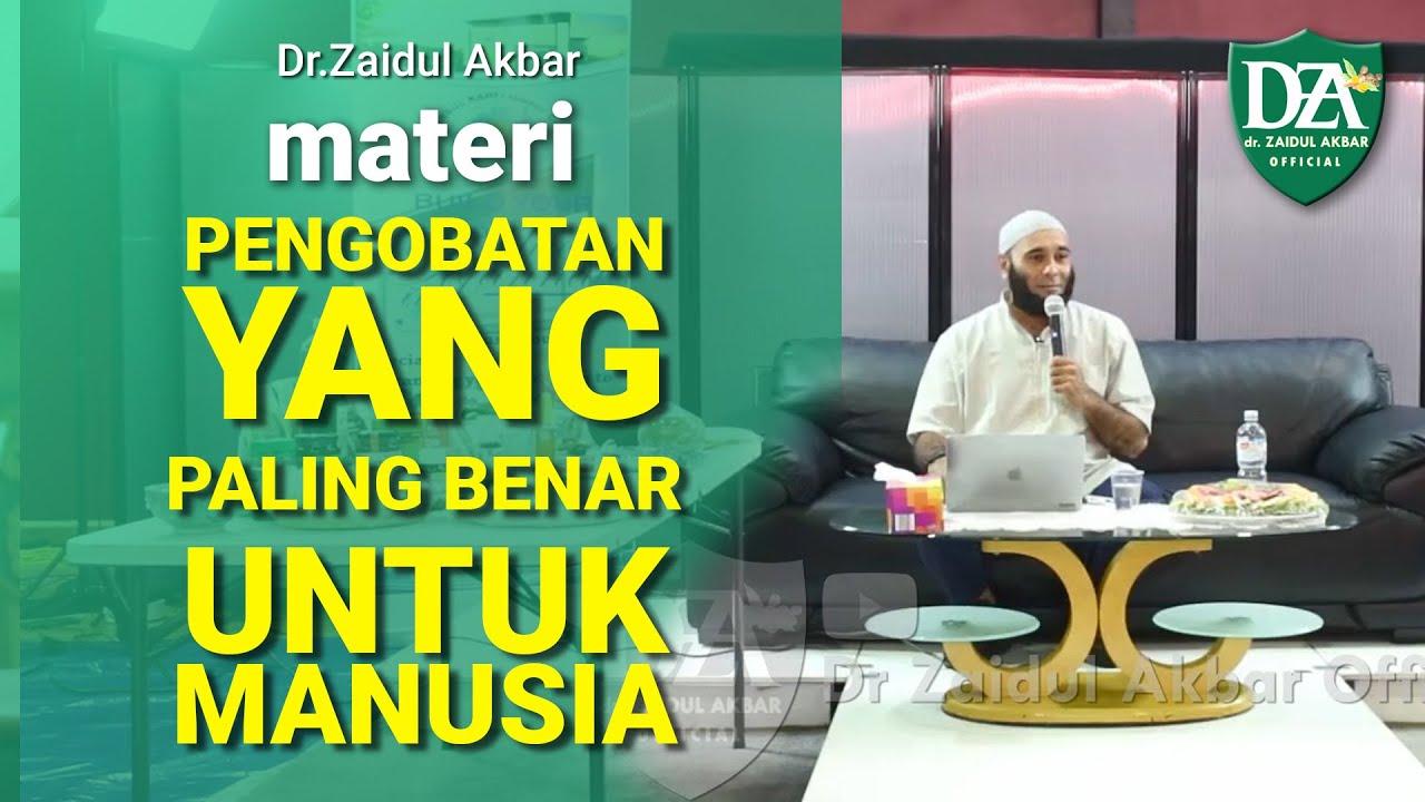 dr. Zaidul Akbar – PENYEBAB BANYAKNYA PENYAKIT SAAT INI & PENGOBATAN YANG PALING BENAR TUBUH MANUSIA :)=