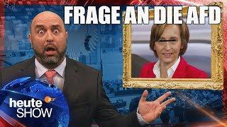 """Serdar Somuncu möchten wissen: """"Wie arbeitet die AfD im Bundestag"""""""