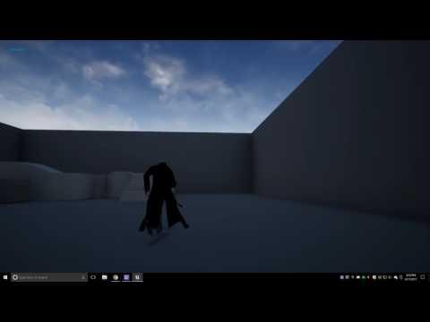 Unreal Engine 4 Multiplayer Test :)