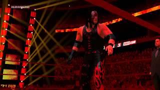 WWE 2K15 Rey Mysterio and Batista Vs. Undertaker and Kane