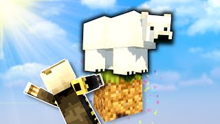 Polar Bears Ruin Everything In ONE BLOCK Skyblock! - Minecraft Multiplayer Gameplay