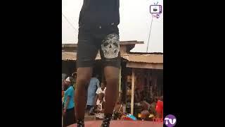 akpororo shakushaku dance in his street praise part 1