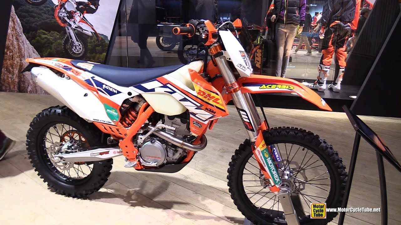 2015 ktm 350 exc-f - walkaround - 2014 eicma milan motorcycle