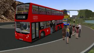Let's Play OMSI 2: (Alexander-Dennis Enviro 500 London United) Scarborough Route HD