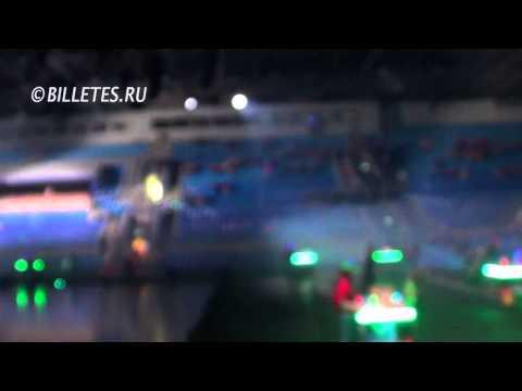 Видео: Ледовое шоу Аладдин и Повелитель огня, Елка в Лужниках
