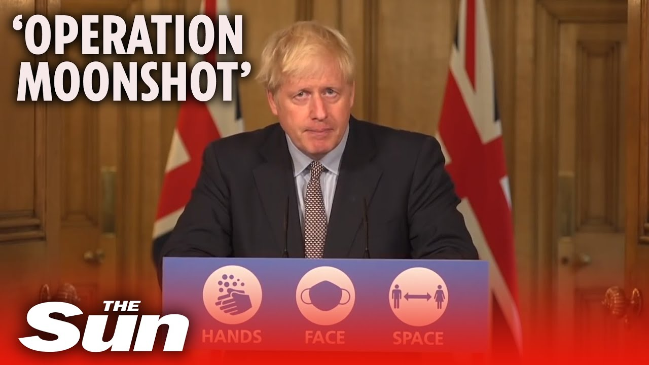 COVID-19: Boris Johnson's £100bn 'Operation Moonshot' plan to test every Brit explain