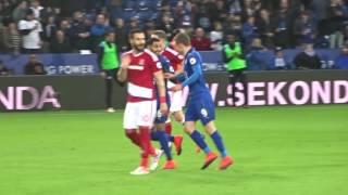 Riyad Mahrez penalty vs Middlesbrough - King Power Stadium - 26th November 2016