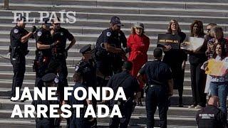 Jane Fonda, arrestada frente al Capitolio de Washington