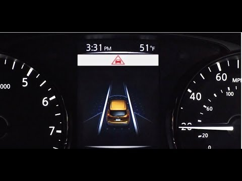 Automatic Emergency Braking Technology Explained | Nissan USA