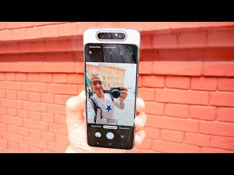 Samsung Galaxy A80 - Обзор