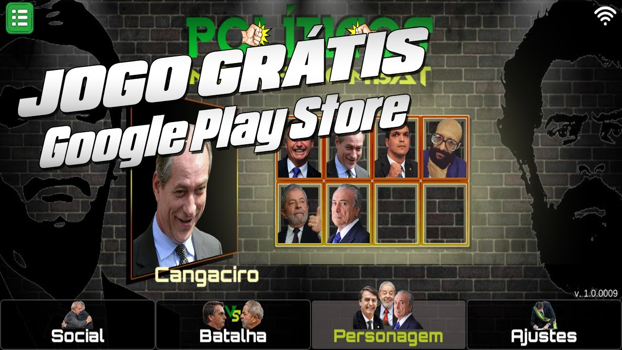 Jogo GRÁTIS na Google Play Store - Políticos Memes Kombat