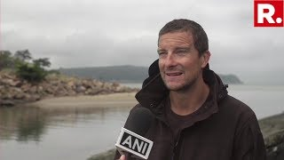 Bear Grylls Speaks To The Media About His Experience With PM Modi On Man Vs Wild
