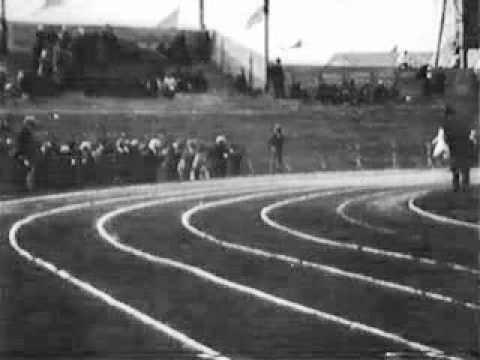 Eric Liddell - Original Footage of his Gold Medal Winning Race