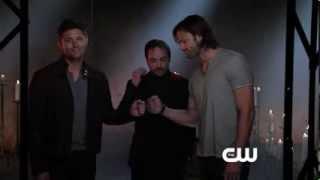 Supernatural   Fist Bump HD - Season 9 promo with Mark Shepard
