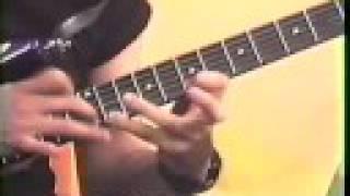 Nelson Junior - Aula de Guitarra (Tapping) parte 1 de 4 - Básico 92/93