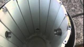 Печка для плавки алюминия часть 2