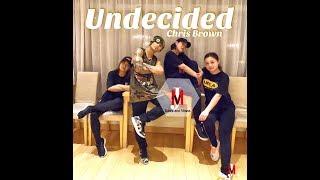 Undecided - Chris Brown | Hip-Hop | JMVergara Dance Choreography | JMVDanceTV