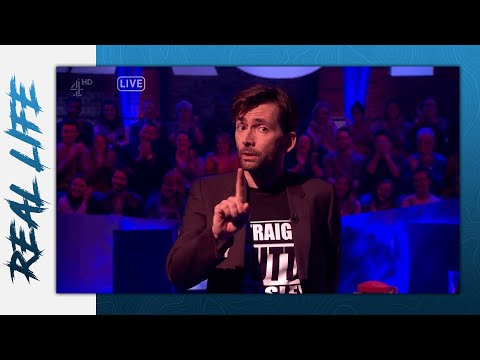 """David Tennant's Calming Message on """"The Last Leg"""" (with captions)"""