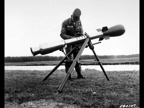 M388 Nuclear bomb testing - Davy Crockett