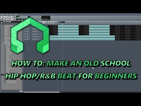 How To: Make An Old School Hip Hop/R&B Beat For Beginners In LMMS