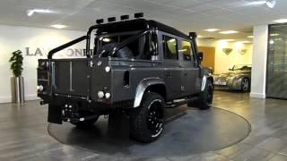 Defender 110 pick-up   Corris & black  Lawton Brook