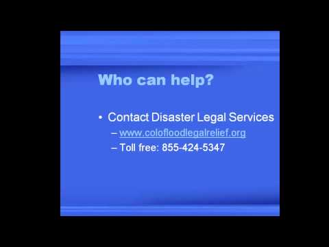 Disaster Legal Services - Your FEMA Claim