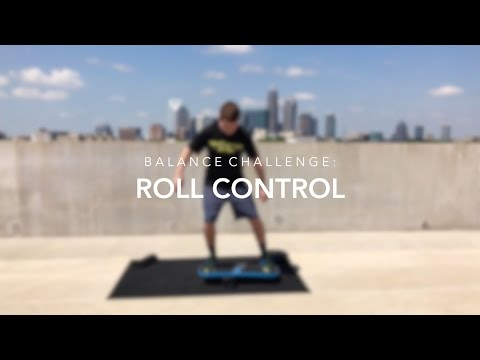 Balance Board Exercise Challenge | Roll Control - Revolution FIT