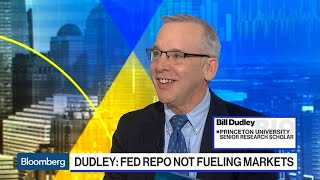 Bill Dudley Says Stock Market Rise on Fed Repo Not a 'Credible Story'