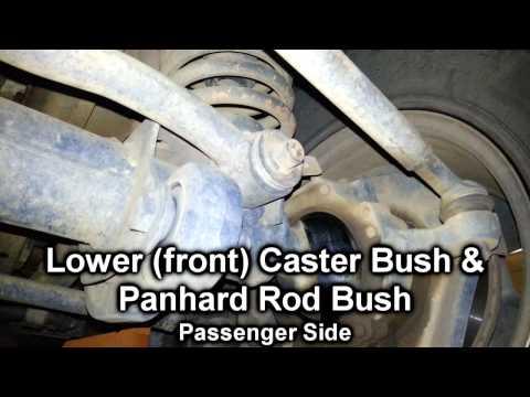 Nissan Patrol GU Steering Vibration